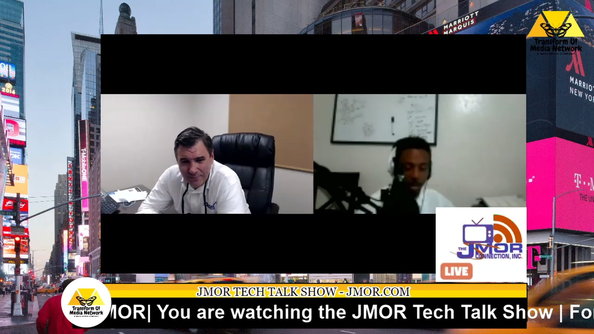 JMOR Tech Talk Show Jan 15, 2021:  How using a secure App will keep you off the Radar